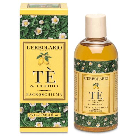 Tè & Cedro bagnoschiuma
