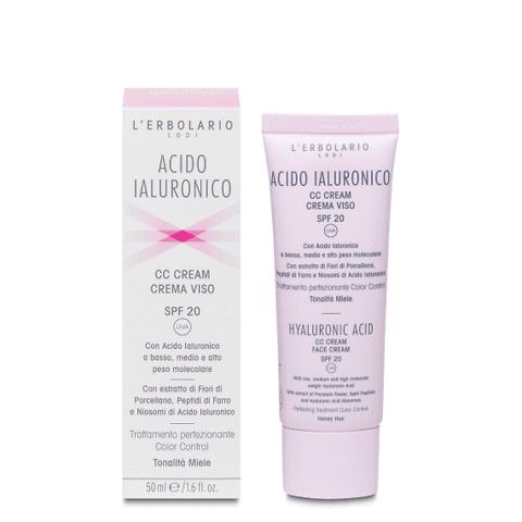 Acido Ialuronico CC Cream SPF 20