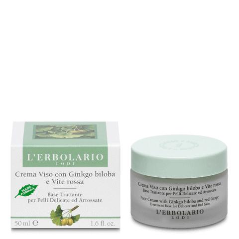 Crema viso anti rossore per pelli delicate
