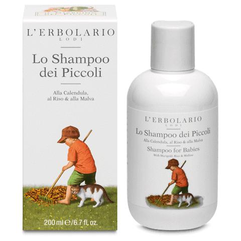 Lo shampoo dei piccoli