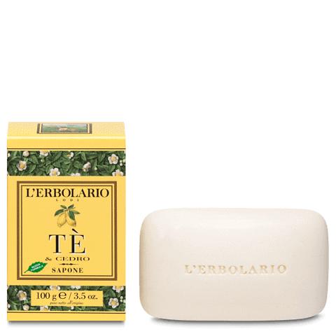 Tè & cedro sapone