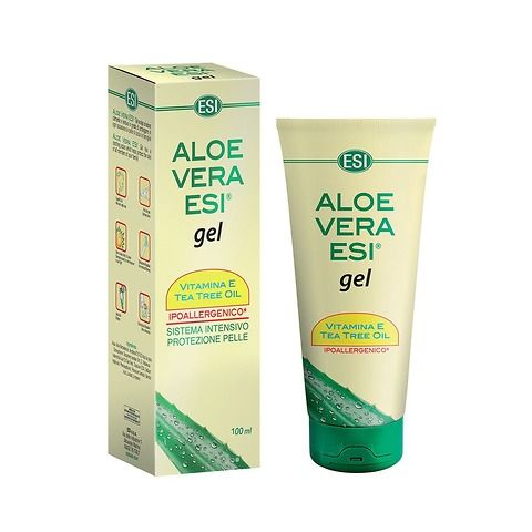 Aloe Vera Gel Vitamina E+Tea tree