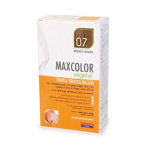 MaxColor Vegetal-Tinta tricologica