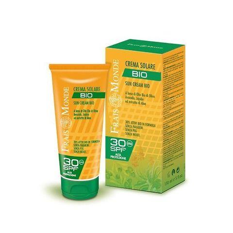 Crema solare Bio alta protezione