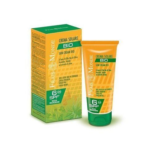 Crema solare Bio bassa protezione
