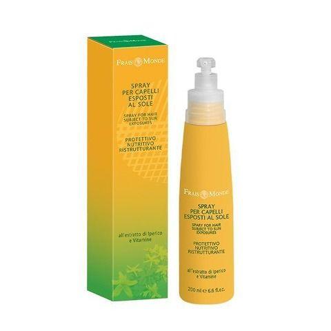 Spray capelli esposti al sole