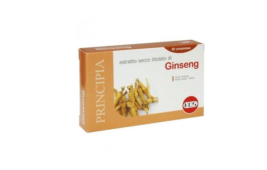 Ginseng radice 300 mg. Tonico e Adattogeno. Vendita online