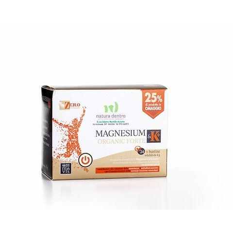 Magnesium & K+ organic forte bustine