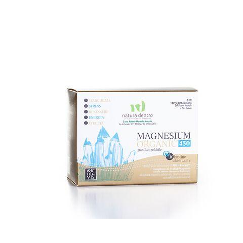 Magnesium organic 450 bustine