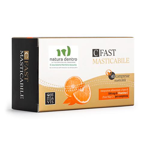 Vitamina C fast masticabile