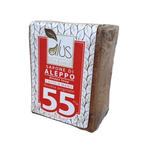 Sapone di Aleppo 55%