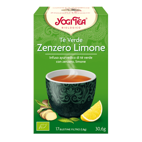 Yogi tea Tè verde Zenzero Limone