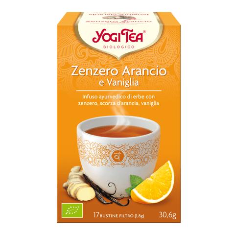 Yogi Tea Zenzero Arancio Vaniglia