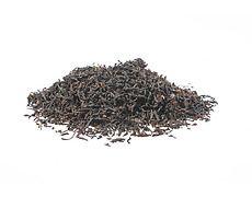 Tè nero assam foglie